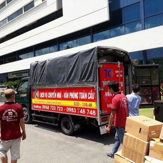 Xe tải chuyển nhà 1,5 tấn