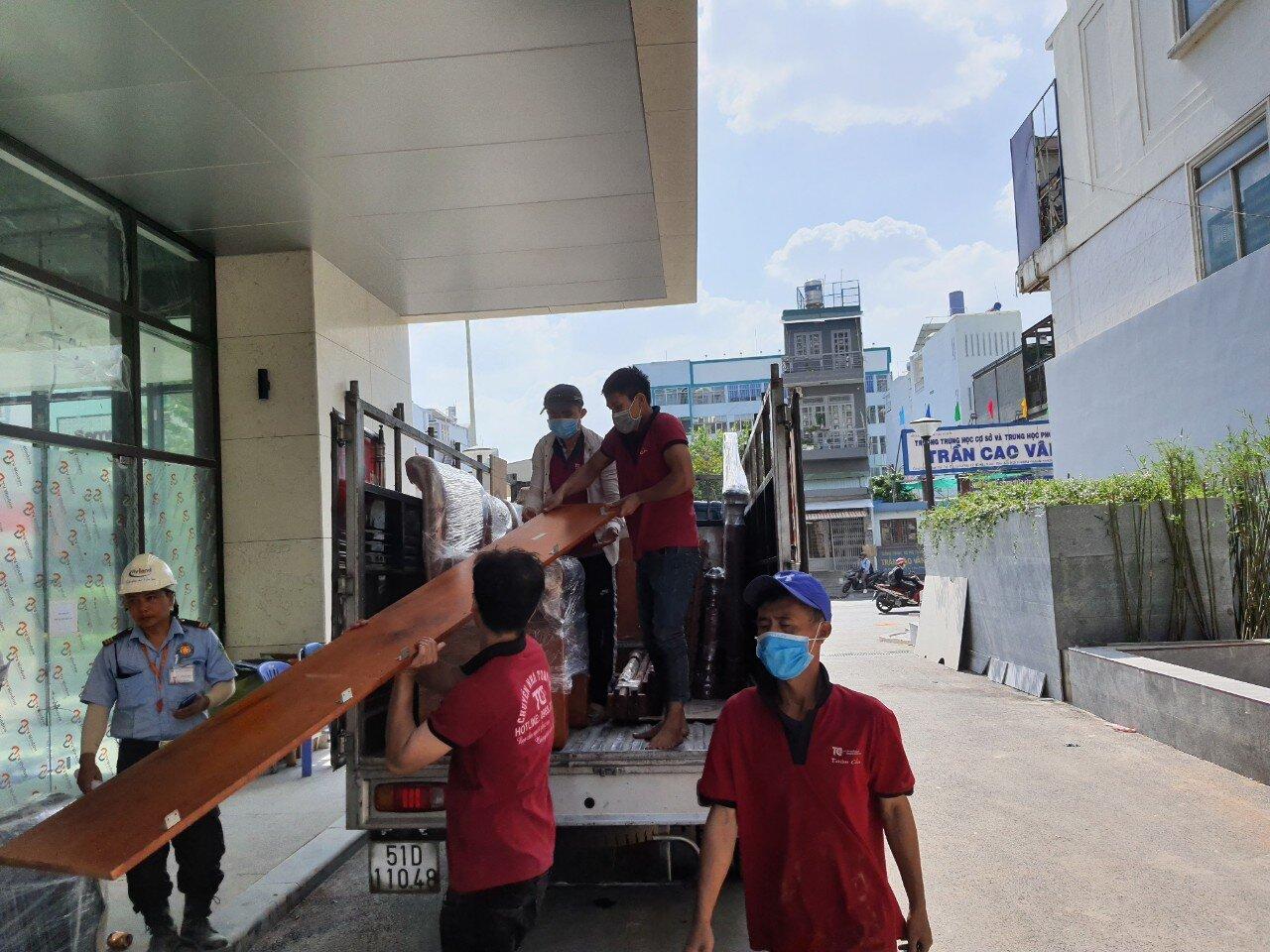 Dịch vụ xe tải chuyển văn phòng Quận Gò Vấp
