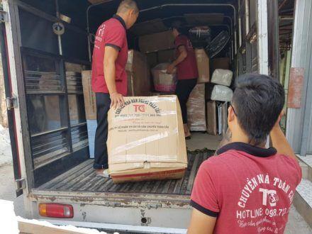 Dịch vụ chuyển nhà giá rẻ tại Quận Bình Thạnh