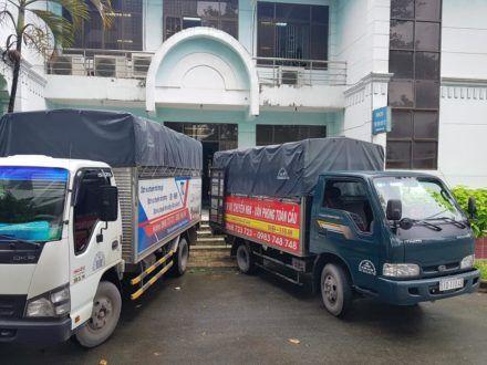 Dịch vụ xe tải chở hàng-Chuyển nhà Toàn Cầu