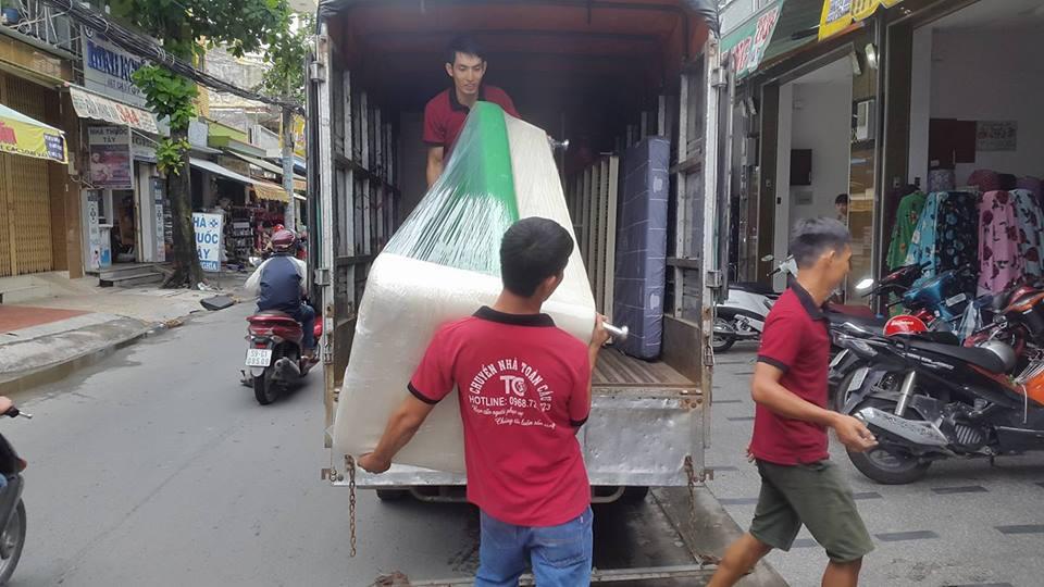 Dịch vụ taxi tải vận chuyển nhà văn phòng