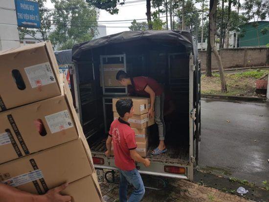 Đồ đạc được đảm bảo với xe tải chuyển nhà giá rẻ