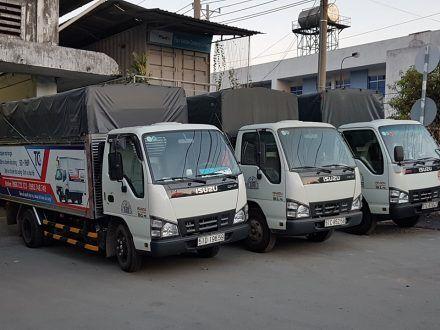 Hình ảnh xe tải chở hàng Toàn cầu