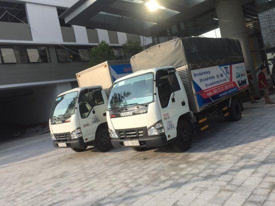 Xe taxi tải chuyển nhà 2 tấn thùng 4m4