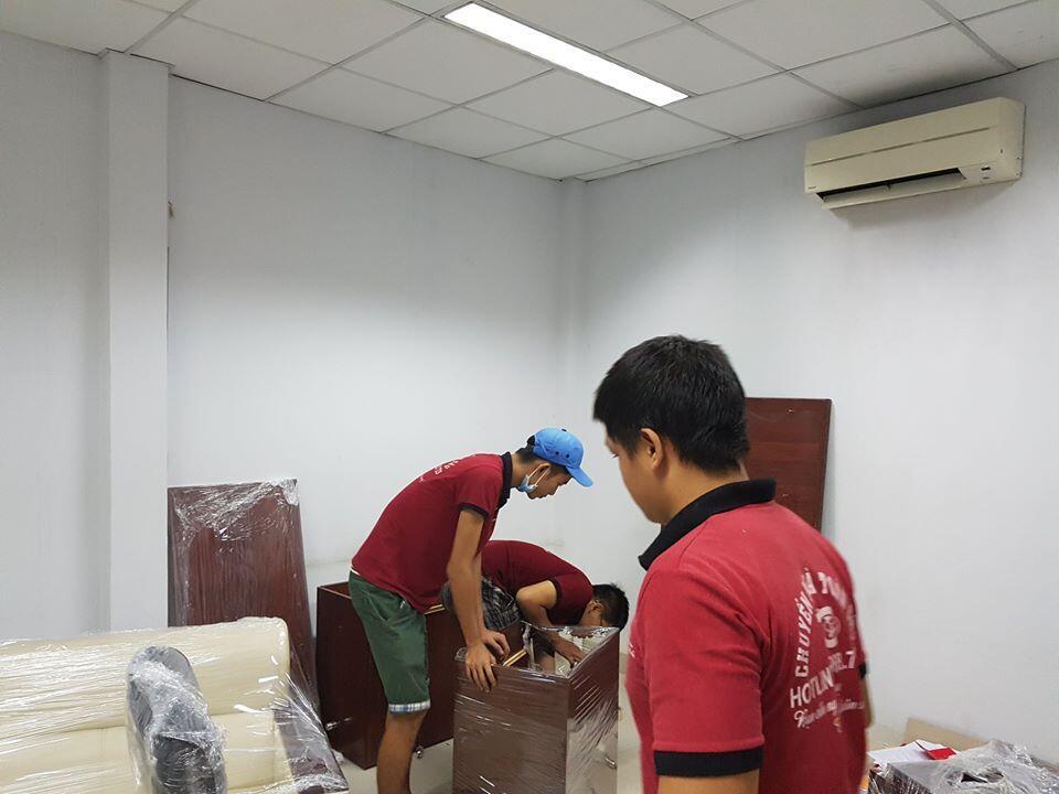 dịch vụ vận chuyển văn phòng tháo dỡ tài sản
