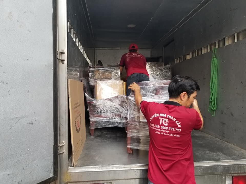 Xe tải dọn nhà trọn gói