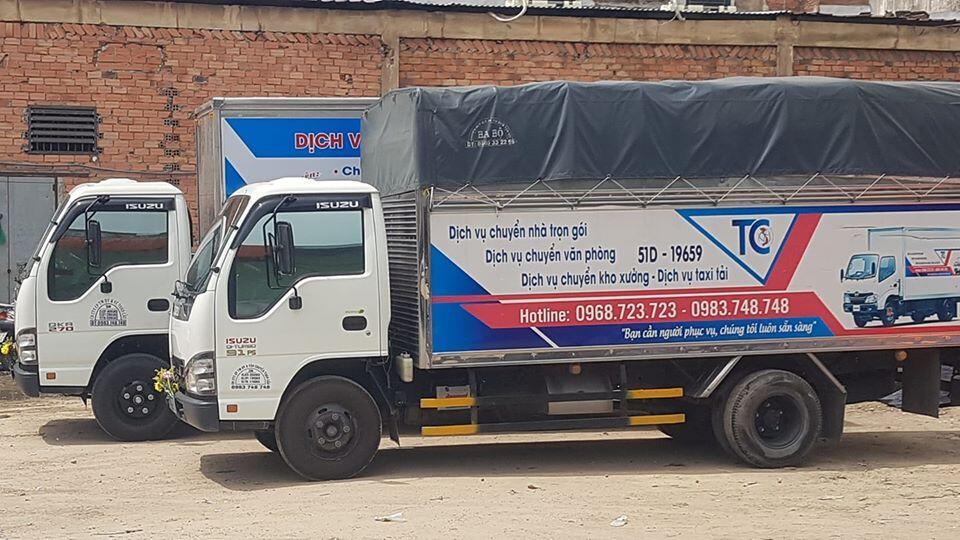 Dịch vụ vận chuyển hàng hóa tại quận tân phú