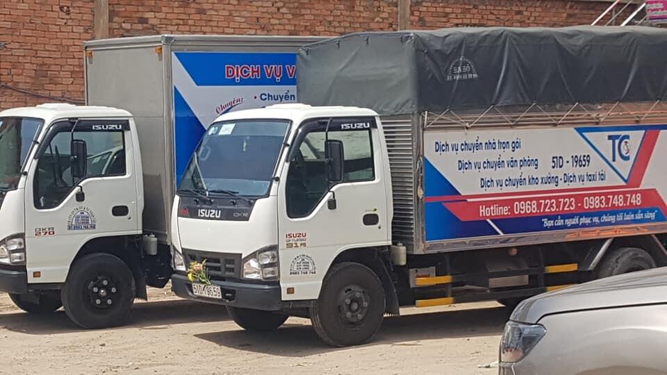 dịch vụ thuê xe tải chuyển văn phòng