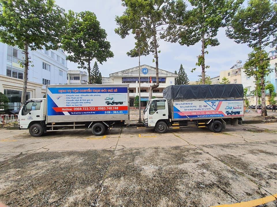 dịch vụ cho thuê xe tải 2 tấn thùng 4m4