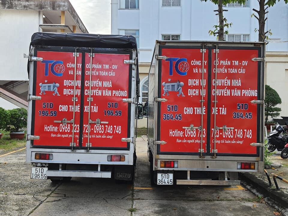 dịch vụ xe taxi tải chở hàng