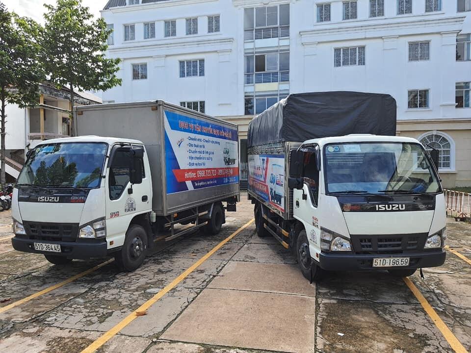 Xe tải chuyển nhà đi tỉnh giá rẻ