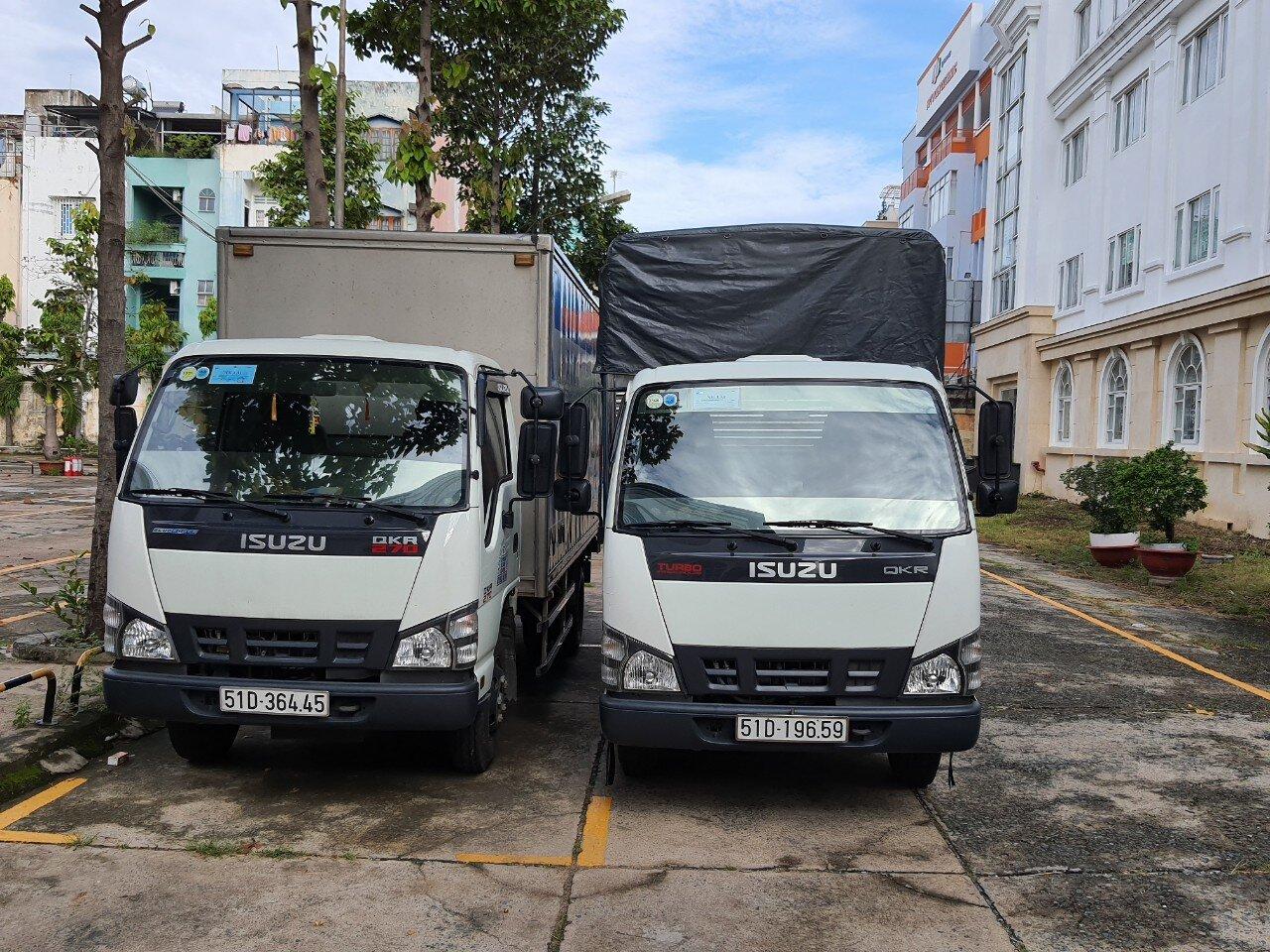 dịch vụ cho thuê xe tải nhỏ