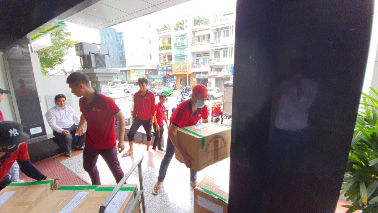 Dịch vụ xe tải chuyển văn phòng