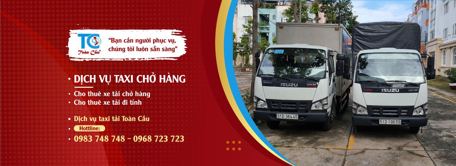 Dịch vụ cho thuê xe tải chở hàng giá rẻ nhất