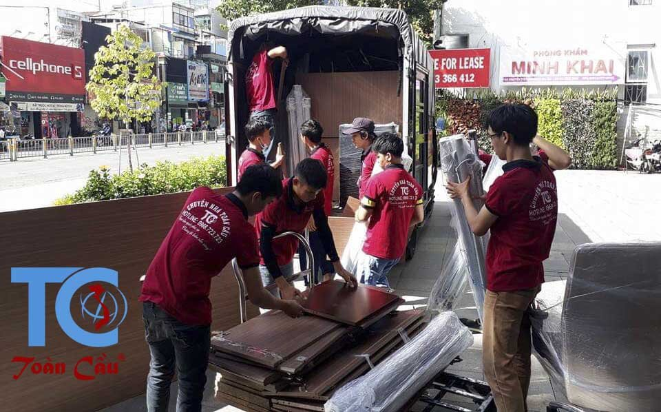 Dịch vụ chuyển nhà trọn gói Quận Ba Đình
