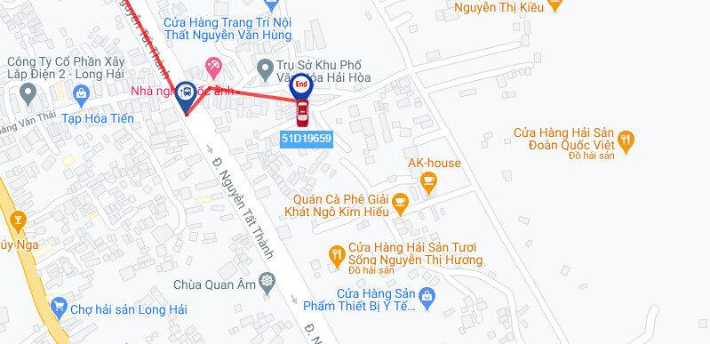 Dịch vụ cho thuê xe tải chở hàng Sài Gòn đi Vũng Tàu