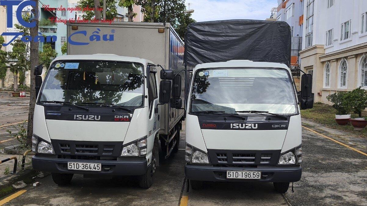 Dịch vụ xe tải chở hàng đi tỉnh