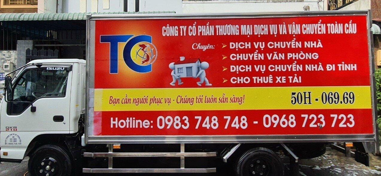 Dịch vụ cho thuê xe tải chuyển nhà
