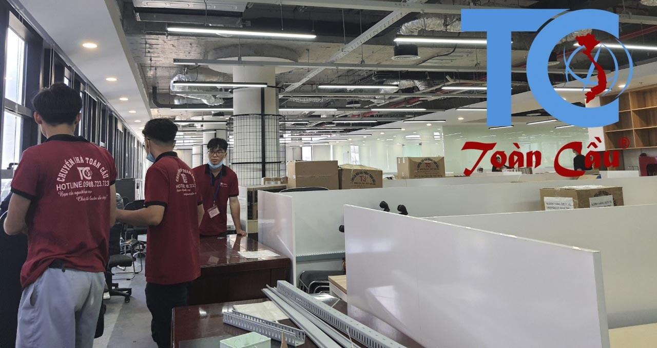 Dịch vụ vận chuyển văn phòng Quận Tân Bình